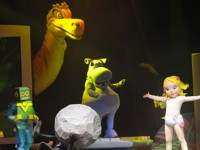 Marionnette sur scène