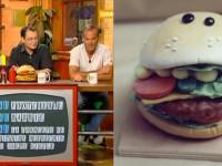 """Hamburger buzzer pour l'émission de jeu """" burger quizz"""" d'Alain Chabat"""