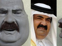 Ben Khalifa. Emir du Koweit. Les guignols tunisiens