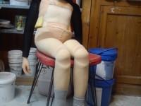 Marionnette en construction