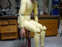 Le mannequin en atelier