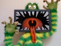 Le monstre télé terminé