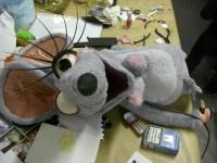 la souris en construction