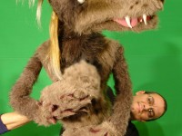 le loup, manipulé par Samy Adjali.