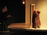 la marionnette en scène
