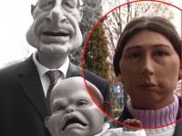 Marionnette de personnage anonyme ( ...ma soeur ) pour les guignols de l'info de canal +