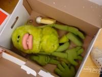 Marionnette à l'atelier. Photo Moving Puppet