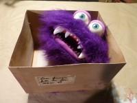 Marionnette de petit monstre