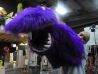 Marionnette de gros monstre