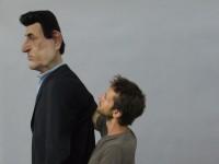 Marionnette manipulée. manipulateur Cyprien Dugas.