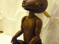 La marionnette de Kirikou terminée
