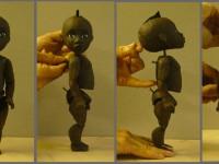 Maquette de la marionnette