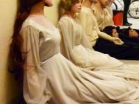 Les mannequins en attente de répétition