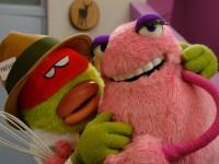 Marionnettes créées pour la série Gorg et Lala , produite par Moving puppet. Créative designer : Corentin Lecourt