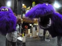 Marionnette crée pour la série Gorg et Lala , produite par Moving puppet