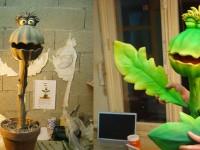 marionnette de plante carnivore pour Moving puppet