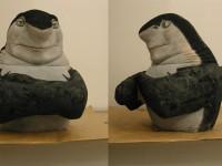 Marionnette tirée d'un personnage de Némo, pour les besoins d'un sketch des guignols