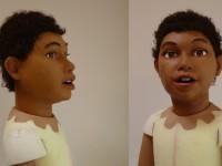 marionnette de Tijoe pour la télévision Guyannaise
