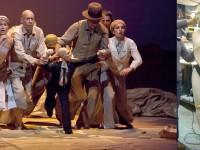 """Marionnette pour le spectacle """" voyageurs immobiles """" de la compagnie Philippe Genty. Résine et mousse"""