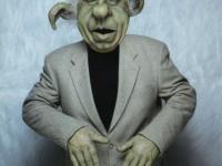 Création d'une marionnette de Philippe Gildas en Yoda