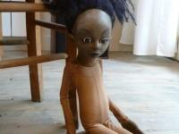 Marionnette de petite fille pour Patricia Gomez