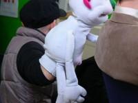 Manipulation de la marionnette. Cyril Valade.