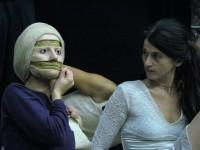 Masque de visage en silicone, qui se retire en bandes...