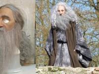 Masque de Merlin l'enchanteur pour le puy du fou et Zigzag productions