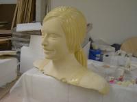 Sculpture en polystyrène et résine polyuréthanne . tour de France. Les ateliers du spectacle.