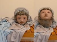 La marionnette d'Athéna, qui se déguise en enfant
