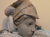 Tête de la marionnette d'Athéna