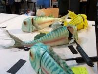 les marionnettes de poissons pilotes
